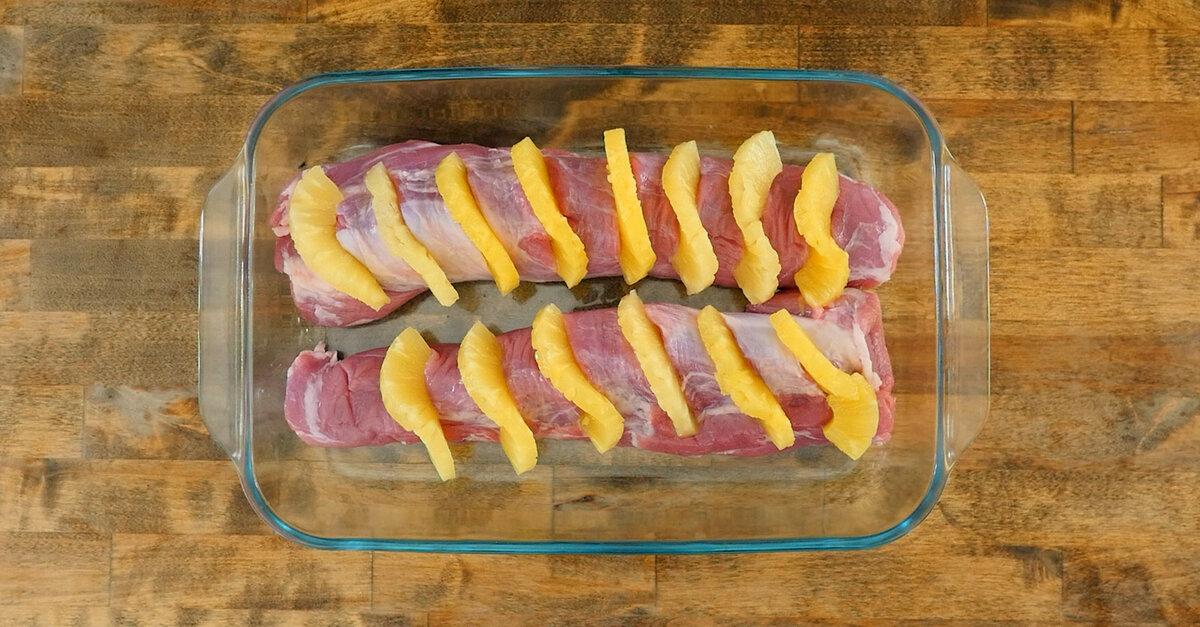 Hawaiian Pineapple Pork Loin 12 Tomatoes