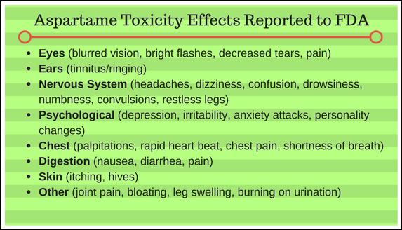 Can I Use Stevia Aspartame Toxicity