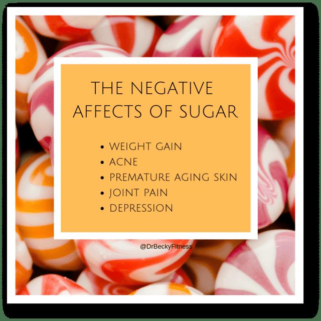 negative effects of sugar