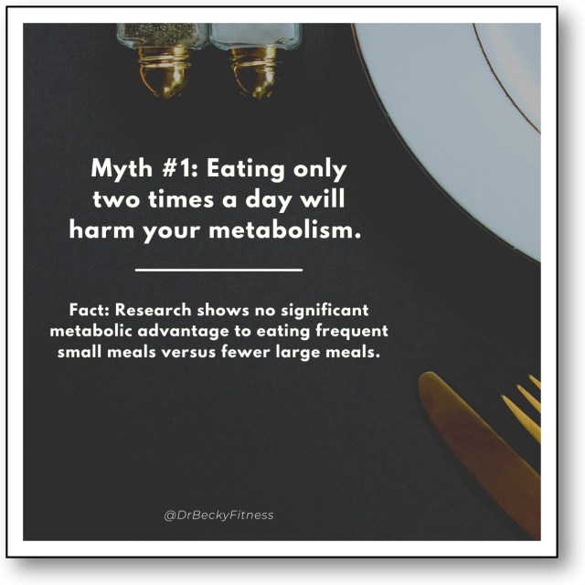 Will Eating 2 Meals a Day Hurt My Metabolism?