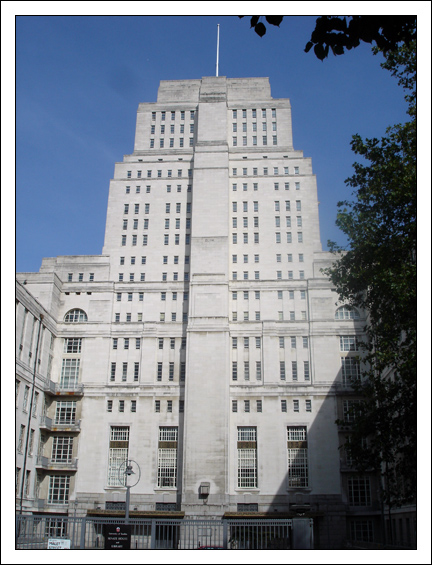 Senate House, where the MOI was housed, now the Institute of Historal Research