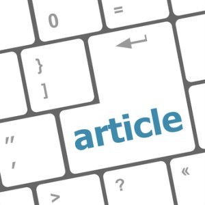 article button on computer keyboard key