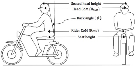 Rider Anthropometry - Motorcycle Accident Reconstruction Expert Witness | Dr John Lloyd