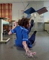 Lloyd slips trips and falls hospital