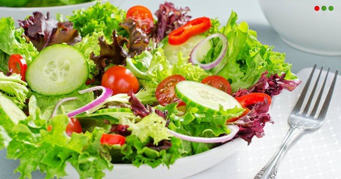 health green salad