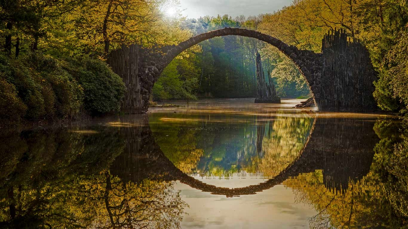 arched bridge metaphor for bridging gaps in autoimmune care