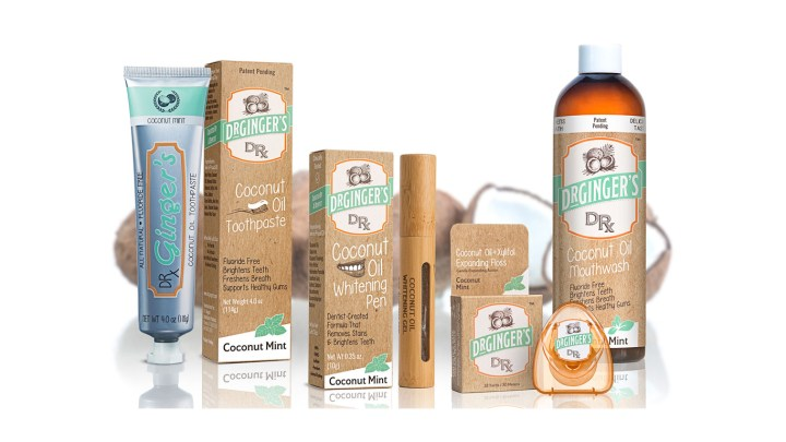 Image of Dr. Ginger's oil pulling products