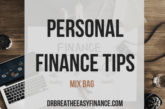 Personal finance tips from Dr Breathe Easy Finance to better your life