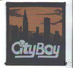 city boy patch