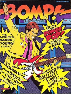 Bomp Powerpop cover