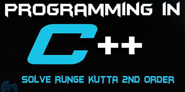 Runge kutta 2nd order in c