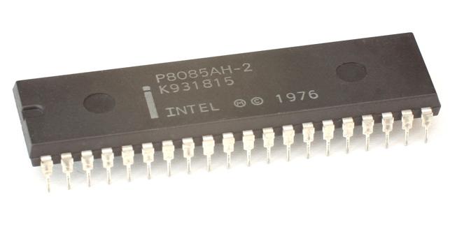 8 bit micro-processor