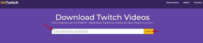 Cómo descargar directos completos de Twitch