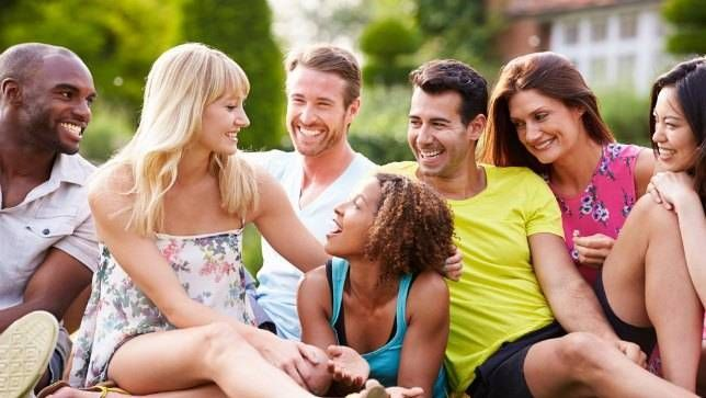 spending time with friends helps moms