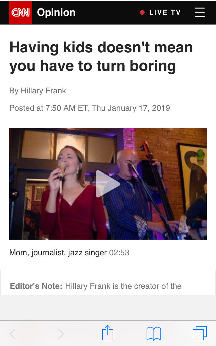 moms don't have to turn boring