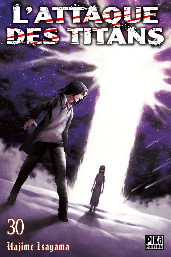 l'attaque des titans,snk,manga,pika edition,tome 30,seinen