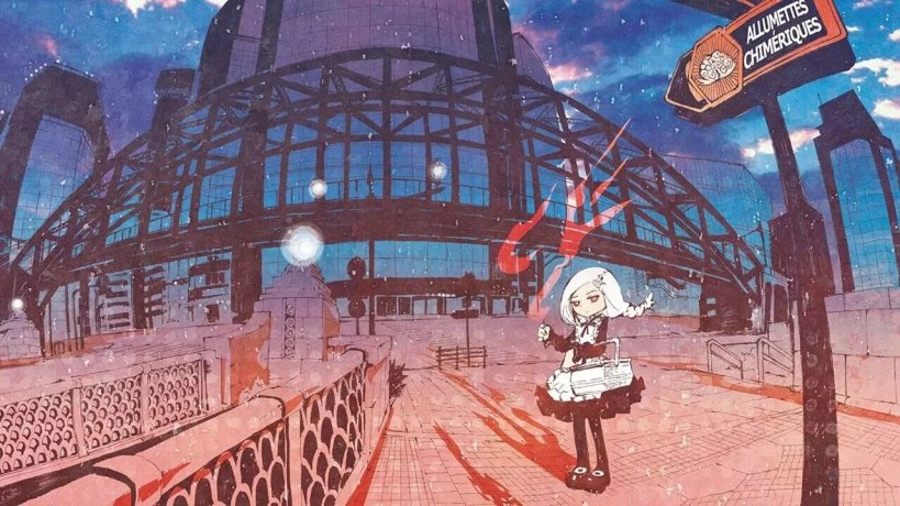 La petite fille aux allumettes,manga,Christian Andersen.,Komikku,histoire courtes,fable,mystère,seinen,féerique,Perfect Crime
