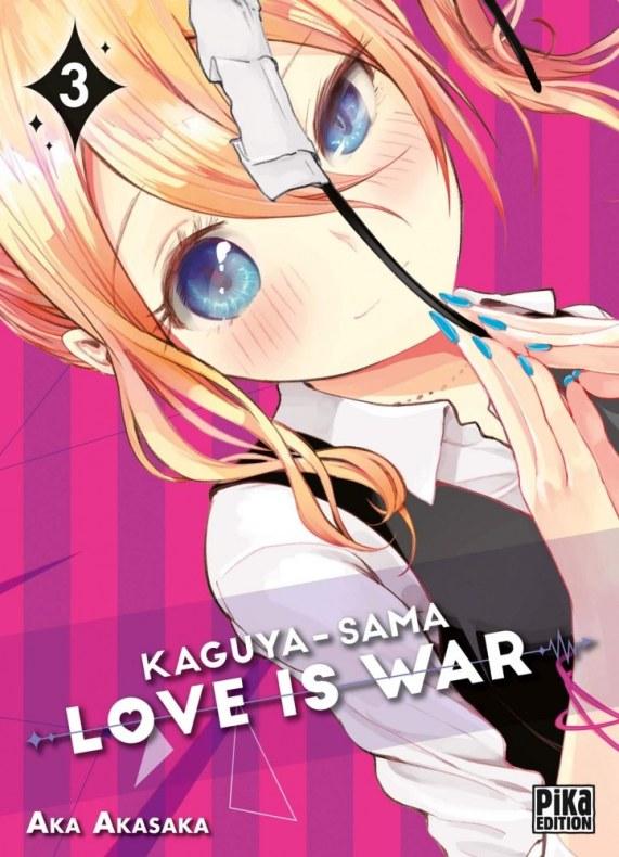 kaguya sama love is war vol. 3