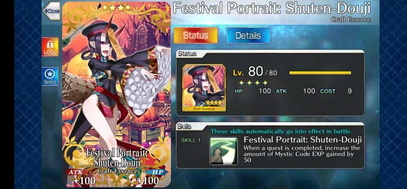 shuten douji festival portrait