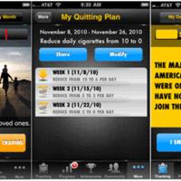 Mobile app to quit smoking