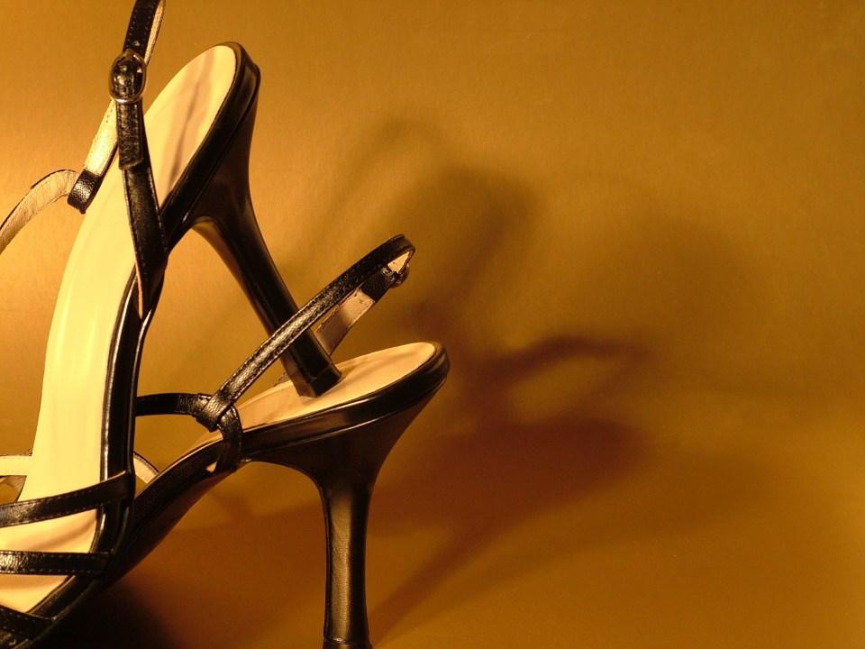 Avoid high heels and sling back women's shoe