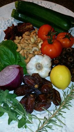 lasagna ingredients platter 1
