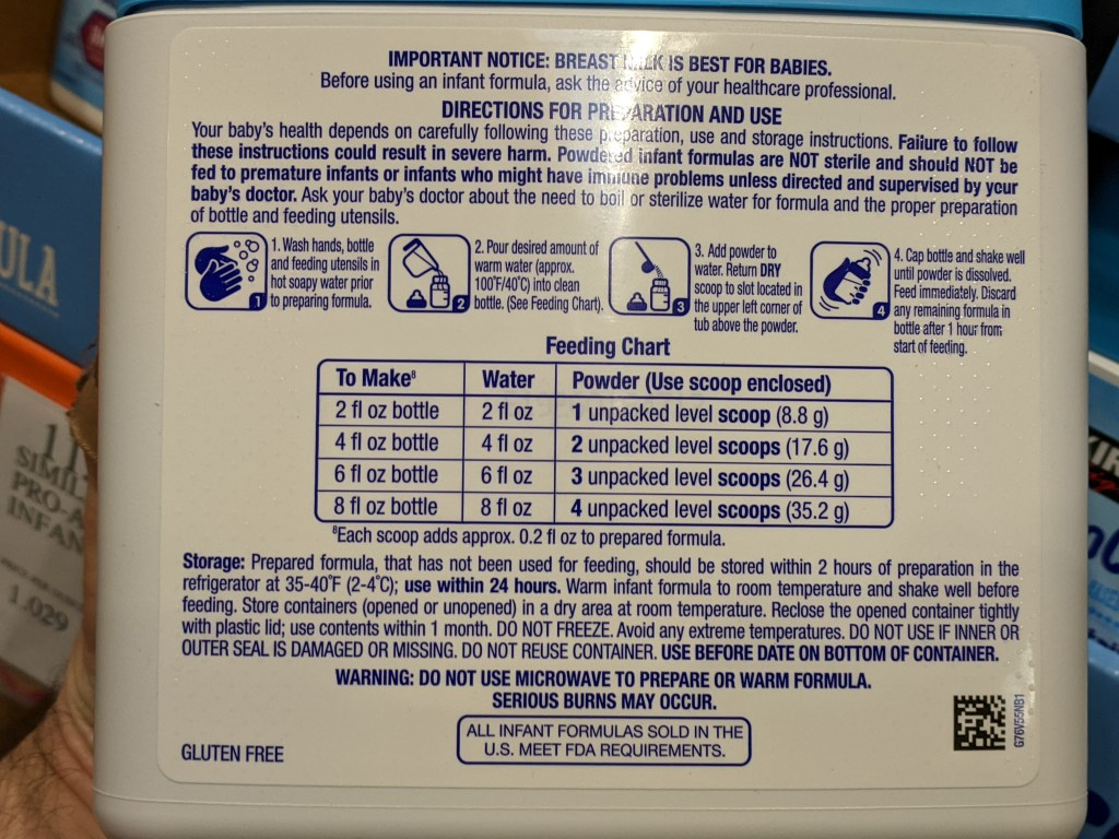 kirkland signature procare mixing instructions