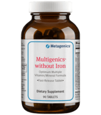Metagenics Multigenics without Iron