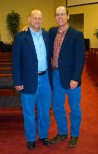 Dr. Dan Eichenbaum and Curtis Bowers