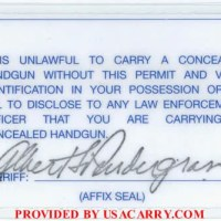 NC Concealed Carry Permit