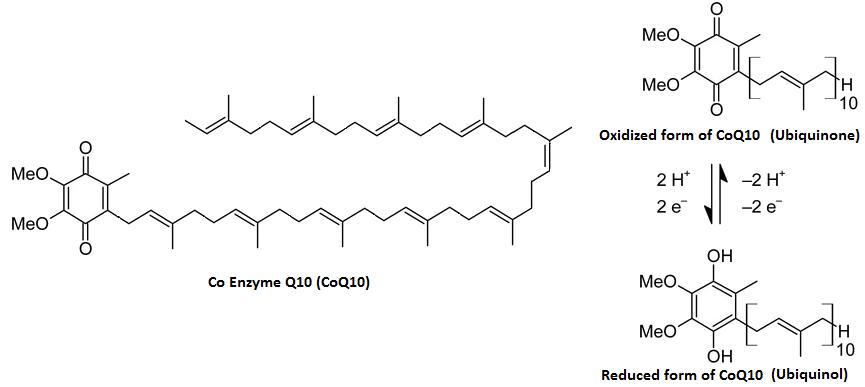 CoQ10 molecular structure