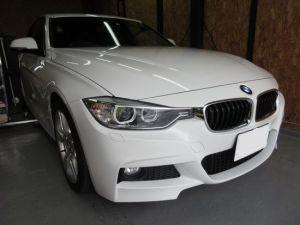 BMW3シリーズのへこみ修理依頼