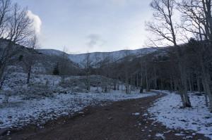 North Schell from trailhead