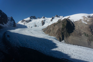 First view of Blue Glacier
