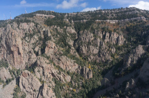 Upper La Cueva Canyon from Thumb
