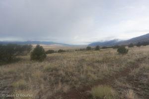 Northern San Luis valley near trailhead