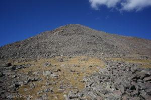 Upper talus-cone