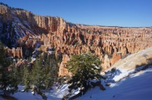 North to main Bryce from below Bryce Point