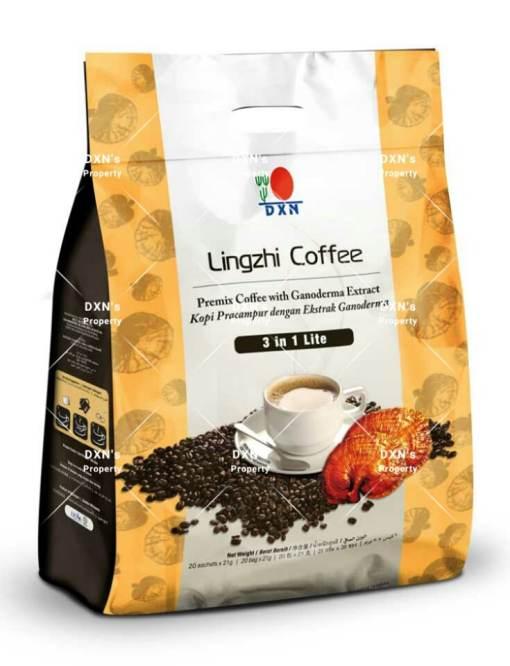 قهوة لينجزي 3*1 لايت dxn