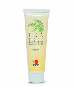كريم شجرة الشاي dxn : للهالات السوداء والكلف و حب الشباب والاكزيما