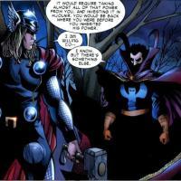 Thor vs Dr Strange