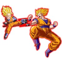 Goten vs Goku