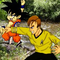 Captain Kirk vs Goku