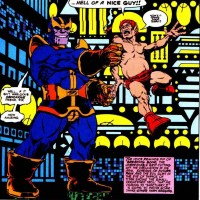Thanos vs Pip the Troll