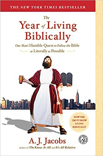The Year Of Living Biblically by A.J. Jacobs (@AJJacobs) [Book Review]