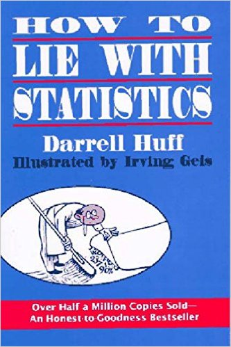 How To Lie With Statistics by Darrell Huff [Book Review] DreAllDay.com
