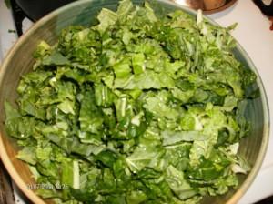Cabbage w sesame oil