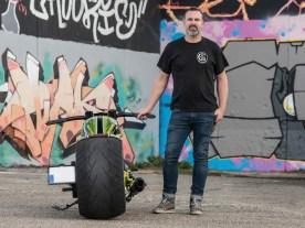 So wollte Geert seinen Custombike: richtig tief und flach