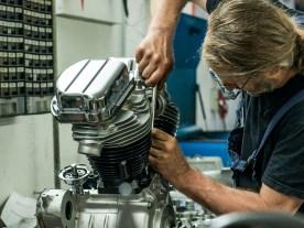 Wiederauferstehung: Revision eines alten Panhead-Motors