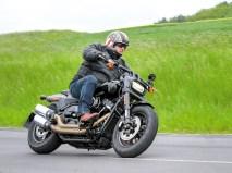 Das Motorrad lag um so viel besser, ich konnte es kaum glauben
